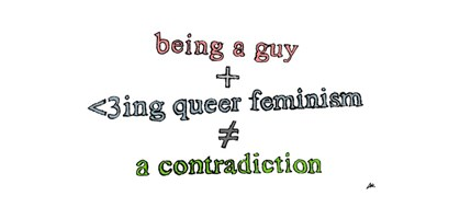 being a guy +